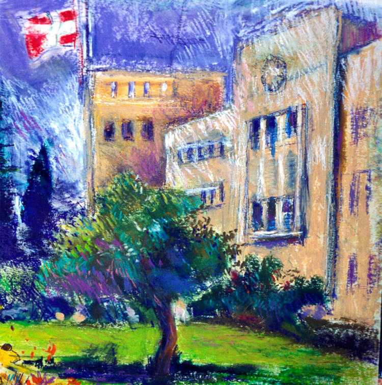 St John Eye Hospital, Jerusalem. By Molly Verity